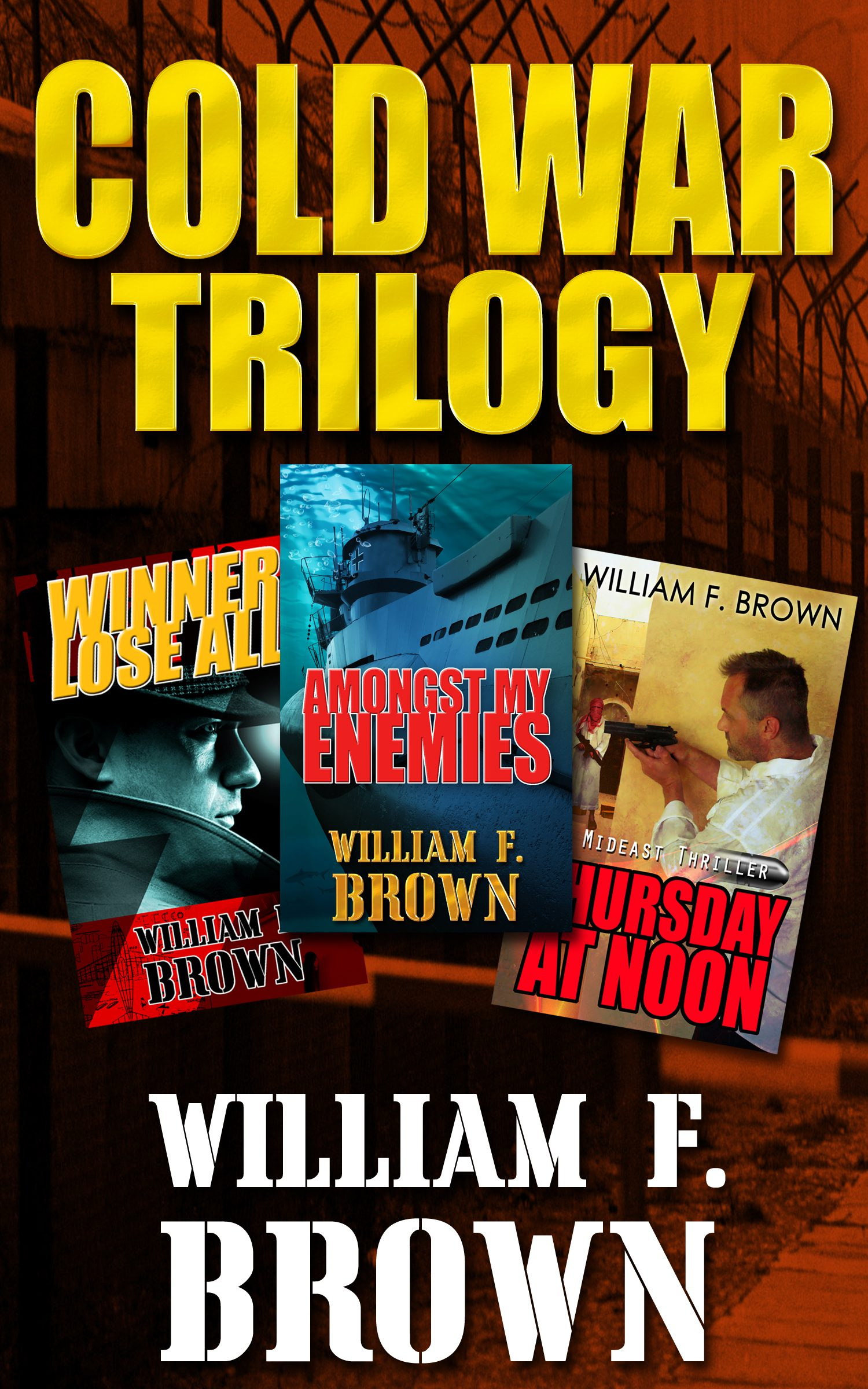 Mystery and Suspense Thriller Archives | William F  Brown